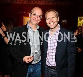 """Matt Nicely, Marty Moe. """"Soundtrack for a Revolution"""" Screening. Photo by Tony Powell. Avalon Theater. March 13, 2011"""