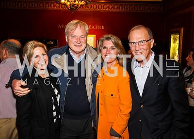 "Patty Libertore, Chris and Kathleen Matthews, Robert Libertore. ""Soundtrack for a Revolution"" Screening. Photo by Tony Powell. Avalon Theater. March 13, 2011"
