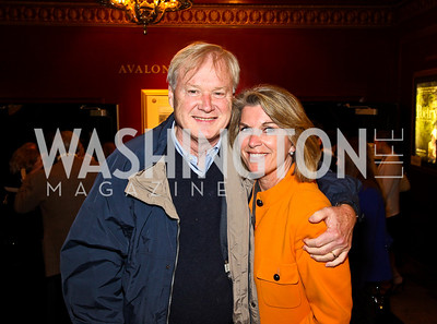 """Chris and Kathleen Matthews. """"Soundtrack for a Revolution"""" Screening. Photo by Tony Powell. Avalon Theater. March 13, 2011"""