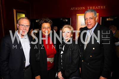 "Robert Libertore, Shirley Hall, Patty Libertore, Elliott Hall. ""Soundtrack for a Revolution"" Screening. Photo by Tony Powell. Avalon Theater. March 13, 2011"