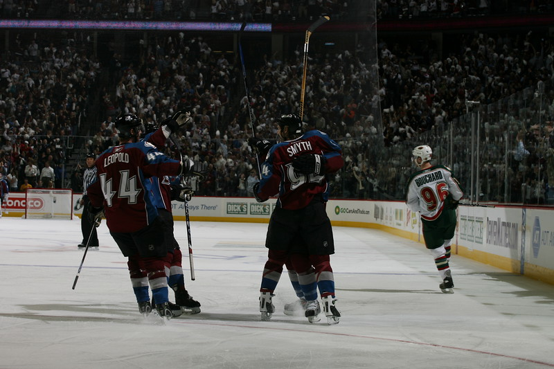 Minnesota Wild v Colorado Avalanche - Game Four