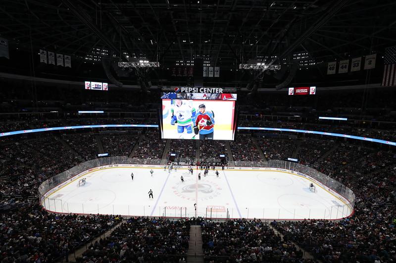Vancouver Canucks v Colorado Avalanche