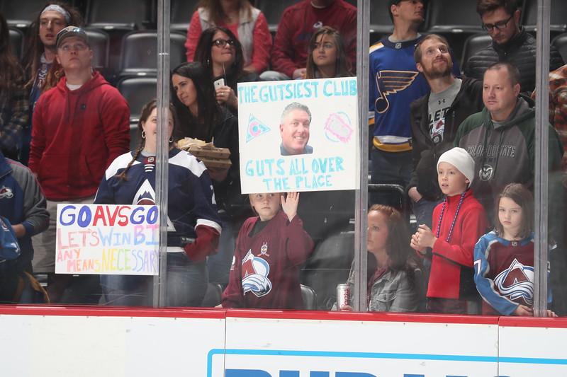 St. Louis Blues v Colorado Avalanche