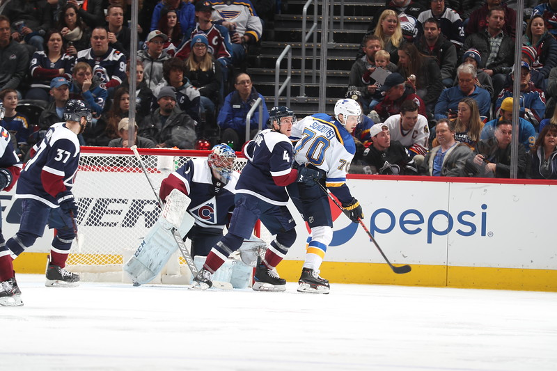 St. Louis Blues v Colorado Avalanche