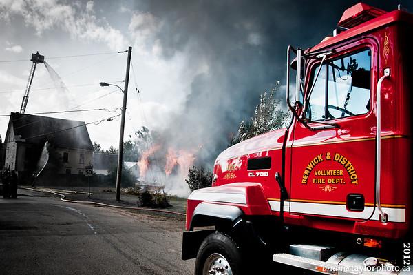 Aylesford fire Control burn