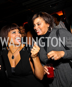 Tina Easter, Tiffany Rose. BET Honors After Party. Photo by Tony Powell. Cities. January 15, 2011