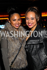 Nicole and Jeannae Rouzan. BET Honors After Party. Photo by Tony Powell. Cities. January 15, 2011