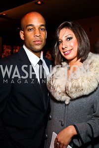 Donovan Goulbourne, Eva Fowler. BET Honors After Party. Photo by Tony Powell. Cities. January 15, 2011