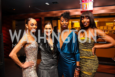Nicole Chantal DeWeever, Maija Garcia, Lauren DeVeaux, Hettie Barnhill. BET Honors After Party. Photo by Tony Powell. Cities. January 15, 2011