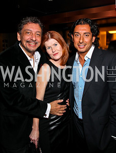 Len DePas, Laurie Martin, David DePas. BET Honors After Party. Photo by Tony Powell. Cities. January 15, 2011