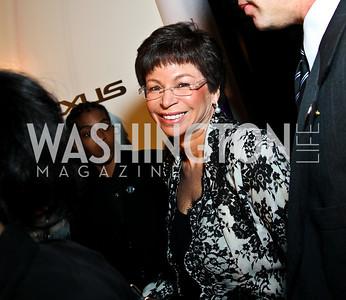 Valerie Jarrett. BET Honors Red Carpet. Photo by Tony Powell. January 15, 2011