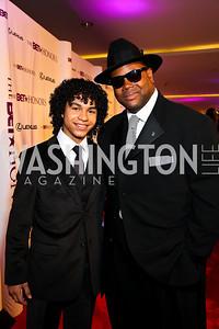 BET Honors Red Carpet. Noah Gray Cabey, Jimmy Jam. Photo by Tony Powell. January 15, 2011