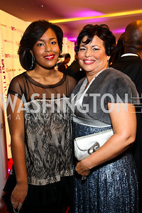 Ava Coleman and Debra Lee. BET Honors Red Carpet. Photo by Tony Powell. January 15, 2011