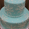 Baby Shower Cake with FROZEN design
