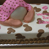 Baby Rump  cake for cowgirl