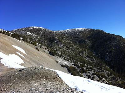 Baldy Bear Canyon; April 22, 2012