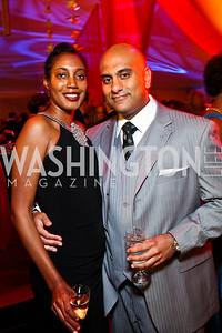 Jennifer Streaks, Nick Rajpara. Photo by Tony Powell. Ball on the Mall. May 7, 2011
