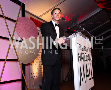 Rep. Aaron Schock. Photo by Tony Powell. Ball on the Mall. May 7, 2011