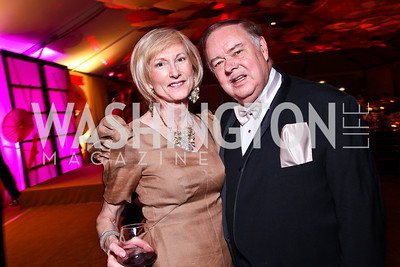 Lola Reinsch and Al Pierce. Photo by Tony Powell. Ball on the Mall. May 7, 2011