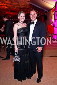 Ashley Taylor, Matt Bronczek. Photo by Tony Powell. Ball on the Mall. May 7, 2011
