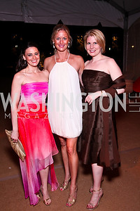 Amanda Walke, Krista Mayer, Amy Wilkinson. Photo by Tony Powell. Ball on the Mall. May 7, 2011