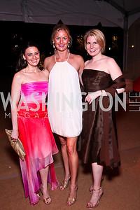 Amanda Walke, Krista Mayer, Amy Wilkinson. Photo by Tony Powell. Ball on the Mall. May 7, 2011