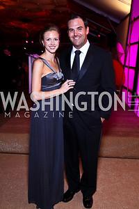 Leah Thorpe, Patrick Zalupski. Photo by Tony Powell. Ball on the Mall. May 7, 2011