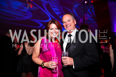 Christine and Jim Weinberg. Photo by Tony Powell. Ball on the Mall. May 7, 2011