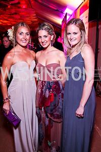 Katie Beck, Marissa Mitrovich, Rebecca Heslin. Photo by Tony Powell. Ball on the Mall. May 7, 2011