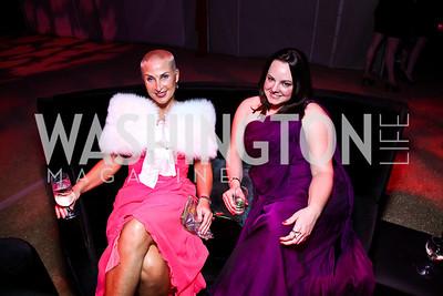 Christyne Nasbe, Kim Sackin. Photo by Tony Powell. Ball on the Mall. May 7, 2011