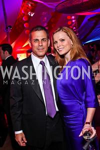 Curtis and Amanda Polk. Photo by Tony Powell. Ball on the Mall. May 7, 2011