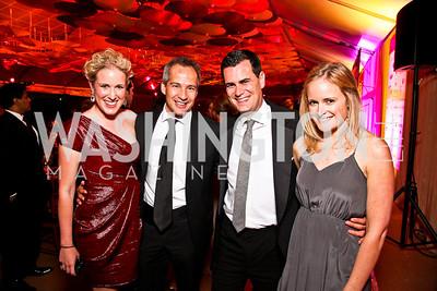 Lindley Thornburg, Winston Bao Lord, Matt Haller, Rebecca Heslin. Photo by Tony Powell. Ball on the Mall. May 7, 2011