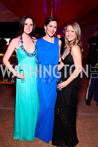 Stephanie Ahr, Laura Kennedy, Whitney Aronoff. Photo by Tony Powell. Ball on the Mall. May 7, 2011