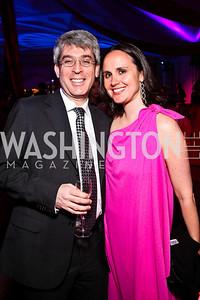 Randy Brater, Erin Barnes. Photo by Tony Powell. Ball on the Mall. May 7, 2011