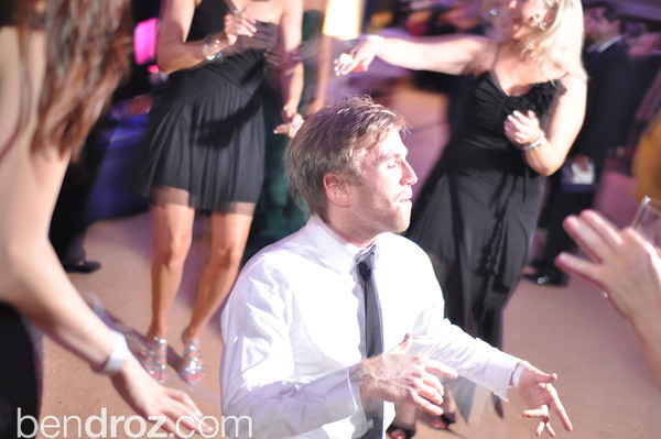 Matt Welsch gets down on the floor.  The annual Ball on the Mall.  Photo by Ben Droz