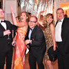 Philip Bermel, Amanda Pittarelli, Rusty Bermel, Marcia Bermel, Brian Bermel.  The annual Ball on the Mall.  Photo by Ben Droz