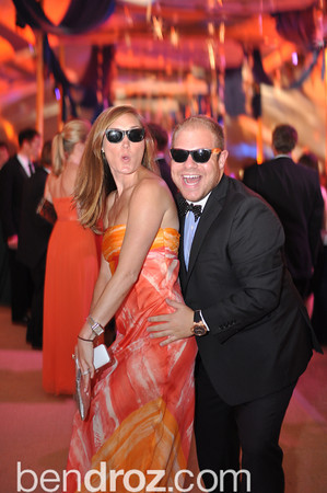 Amanda Pittarelli, Rusty Bermel.  Jose Andres assistants, The annual Ball on the Mall.  Photo by Ben Droz