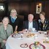 Dinner at Polo Grill on the Nautica: Eileen Gordon, Diane Wilson, Ned Gordon, Annette Conklin