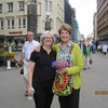 Diane Wilson and Annette Conklin in Riga, Latvia