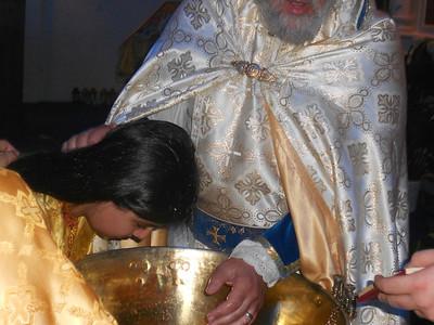 Baptism at the Armenian Church of Jacksonville, FL, May 2014