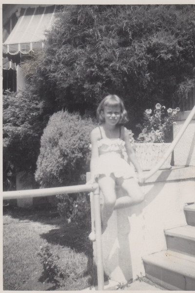 Barbara in Avon abt 1950