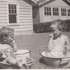 Marilyn and Barb 29 Elmora Ave, Elizabeth, NJ abt 1947