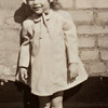 1013 No. Broad St. Elizabeth, NJ. On the roof. Barb abt age 3.