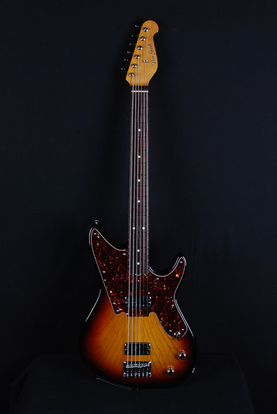 Don Grosh Baritone in '59 Burst, TV Jones Pickups