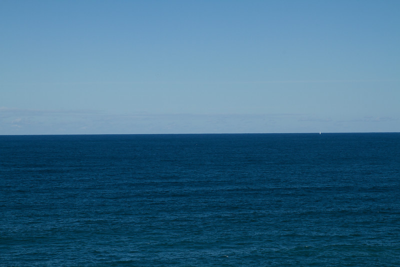 The vast blue ocean