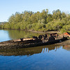 Shipwreck on Moruya River