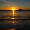 Vibrant sunrise at Batehaven
