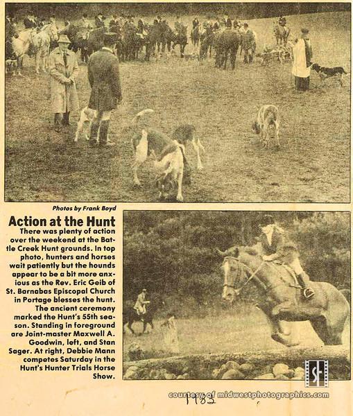 BCH Master Stan, Pam in Derby 1983