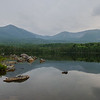 Katahdin from Sandy Stream Pond.