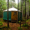 Cool yurt.